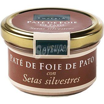 IMPERIA Paté de foie de pato con setas silvestres Frasco 90 g
