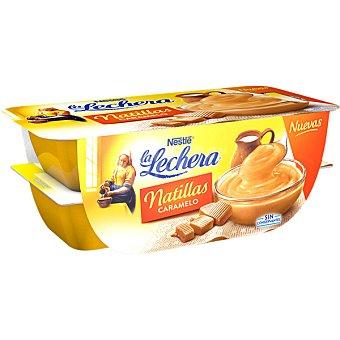 LA LECHERA Natillas de caramelo 4 unidades (115 g)