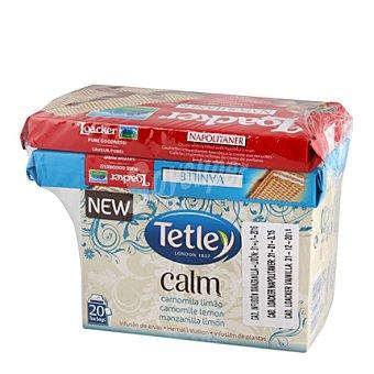 Tetley Infusión de manzanilla y limón Calm  20 ud en bolsitas