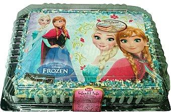 Mercadona Tarta infantil trufa 20 raciones (cuadrada) pasteleria congelada 1 u 1700 g