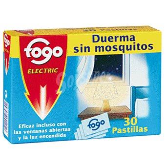 Fogo Insecticida volador electrico antimosquitos recambio 30 pastillas 30 pastillas