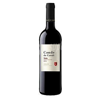 Conde de Caralt Vino tinto DO Cataluña botella 75 cl 75 cl