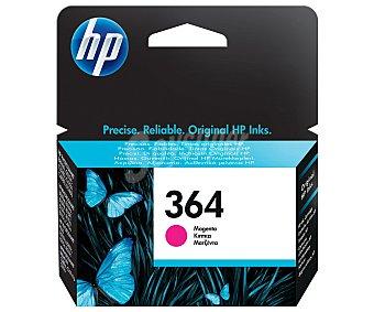 HP Cartucho Magenta 364 HP Compatible con Impresoras: Photosmar T5510 / 5155 / 5520 / 6510 / 6520 / 7510 / 7520 / B8550 / C5324 / C5380 / C6324 / C6380 / D5460 / B010a / B109a/d/f/n / B110a/c/e / B209a/c / B210a/c / C309a/n/g / C310a / C410b / C510a /3070A / 3520 / 4620 / 4622