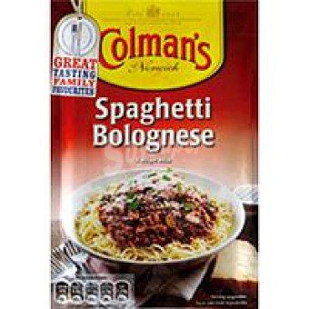 Colmans Salsa para spaguettis a la boloñesa Sobre 45 g