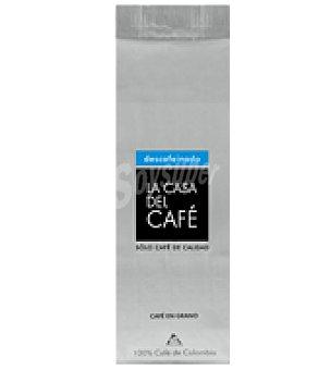 La casa del cafe Café de Colombia Descafeinado grano 250 g