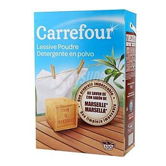 Carrefour Detergente en polvo marsella 100 cacitos