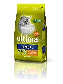 Ultima Affinity Comida para gatos senior Bolsa 1,5 Kg