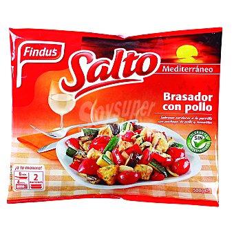 Findus Brasador con pollo especiado Salto 500 g