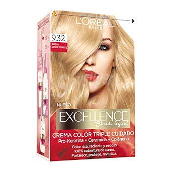 L'ORÉAL Excellence Tinte blonde legend nº 9.32 Rubio Deslumbrante 1 ud