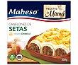 Canelones de setas con queso Emmental Caja 300 g Maheso