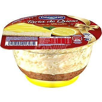 Danone tarta de queso con coulis de limón envase 100 g