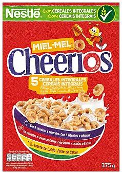 Cheerios Nestlé Anillos de cereal, avena integral tostado y miel 375 g