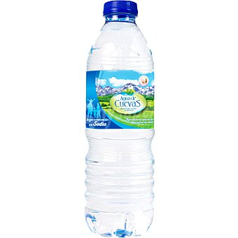 Cuevas Agua mineral natural de mineralización débil Botella 50 cl