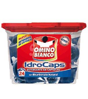 Omino Bianco Detergente con bicarbonato natural en capsulas 24 lavados
