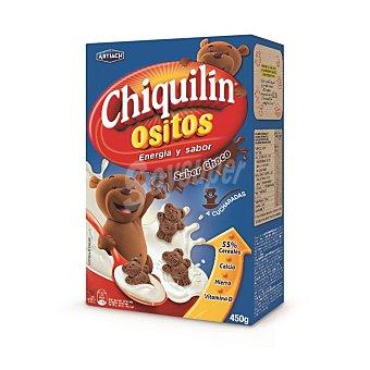 Chiquilín Artiach Ositos de chocolate Caja 450 g