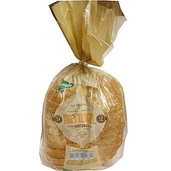 El Corte Inglés pan de molde redondo natural cortado Bolsa 500 g