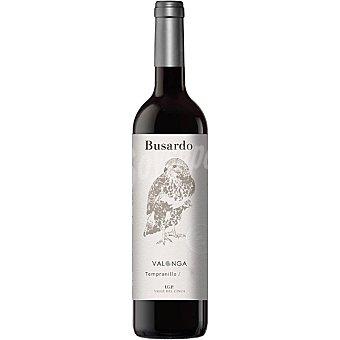 Busardo Vino tinto tempranillo roble I.G.P. Valle del Cinca Botella 75 cl