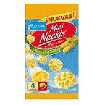 Nackis Bicentury Mini Nackis tortitas de maíz  envase 100 g