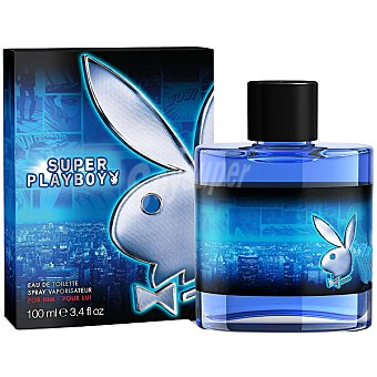 SUPER PLAYBOY eau de toilette masculina frasco 100 ml Frasco 100 ml