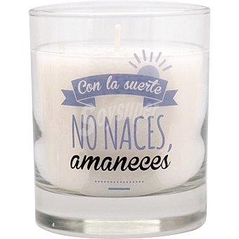 Vela perfumada Frase Nº.4 en vaso Ambient Air. Aroma Oceano