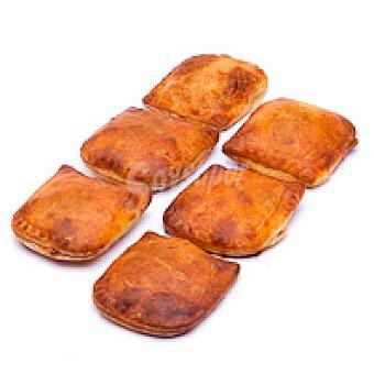 Eroski Minibocata de bacón-crema de queso Bandeja 6 unid