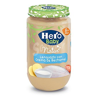 Hero Tarrito de lenguado con bechamel 250 g
