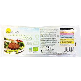 Special Line Hamburguesa vegetal de brócoli Envase 200 g (2 unidades)