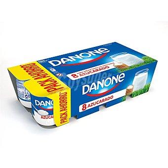 Danone Yogur natural azucarado 8 unidades de 125 g