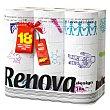 Papel higiénico Design 18 rollos Renova