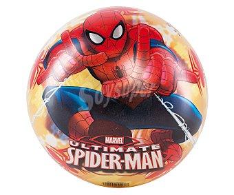 Marvel Pelota de 23 centímetros decorada con motivos de Spiderman 1 unidad