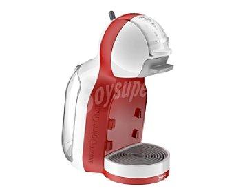 DELONGHI EDG305 MINI ME Cafetera de cápsulas, blanca/roja, Automática, 15 bares de presión, sistema de cápsulas Nescafé Dolce Gusto, prepara bebidas frías y calientes, deposito con capacidad de 0.8 litros, 0.8 litros