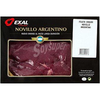 EXAL Filetes 1ª A de novillo argentino envase 250 g peso aproximado Envase 250 g peso aprox. (2 unidades)