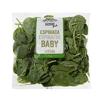 Mercadona Espinacas baby frescas Bolsa 100 g