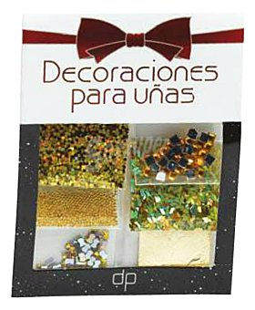 DELIPLUS DECORACIONES PARA UÑAS COLOR ORO 1 pack