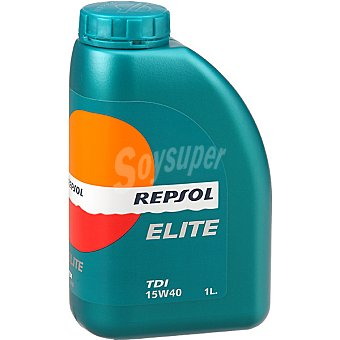 REPSOL Elite Aceite de motor TDI 15W40 bidón 1 l