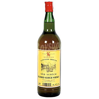 SCOTISH GROCER Whisky escocés botella 1 lt 1 lt
