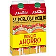 Salmorejo pack ahorro 2 unidades Envase 1 l Alvalle