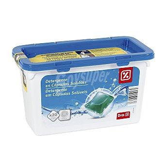 DIA Detergente máquina Envase 20 cápsulas