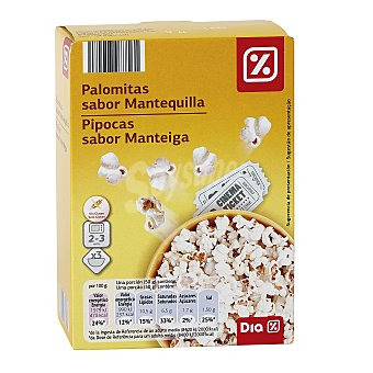 DIA Palomita mantequi p3 caja 300GR 3 envases de 100 g