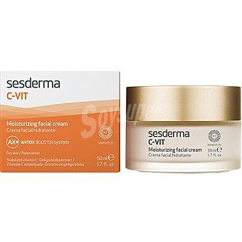 Sesderma C-vit crema facial hidratante antiox para pieles secas vitamina C estabilizada Tarro 50 ml