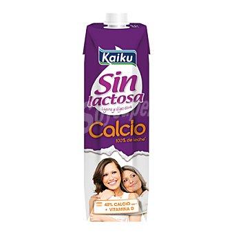 Kaiku Sin Lactosa Leche con calcio sin lactosa 1 l