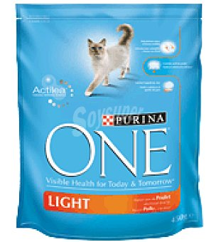 Purina One One light gato pollo 450GR 450 grs