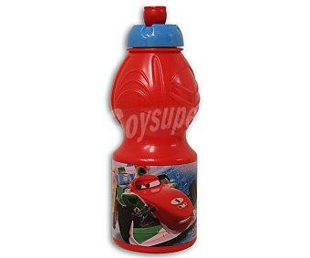 Disney Resistente botella deportiva pequeña de polipropileno con ilustraciones de Cars Racing Sport Network 1 Unidad