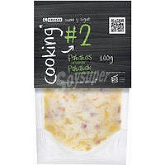 EROSKI Patatas a la carbonara sobre 100 g