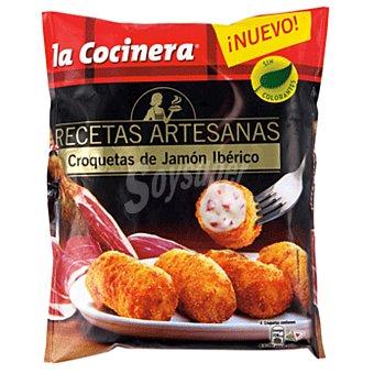 La Cocinera Croquetas artesanas de jamón ibérico Bolsa 400 g