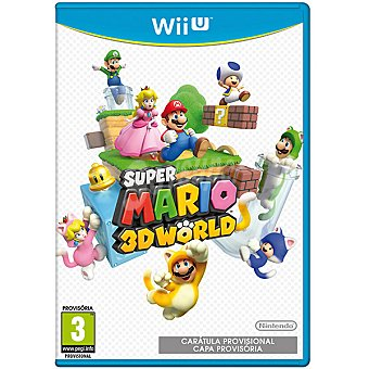 WII U Videojuego Super Mario 3D World  1 Unidad