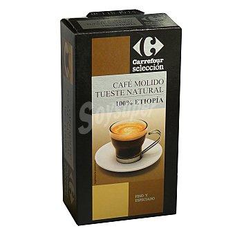Carrefour Selección Café Molido Tueste Natural 100% Etiopia 250 g
