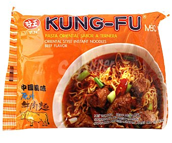 Kung-fu Fideos sabor a ternera Paquete 85 g