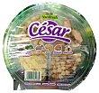 Ensalada cesar (escarola rizada, canonigos, radiccio, pollo, queso parmesano, salsa cesar, picatostes Y tenedor) Tarrina 210 g Verdifresh