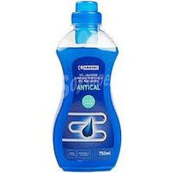 Eroski Gel antical lavadora Botella 750 ml